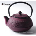 Personalized Japanese Cast Iron teapot with infuser